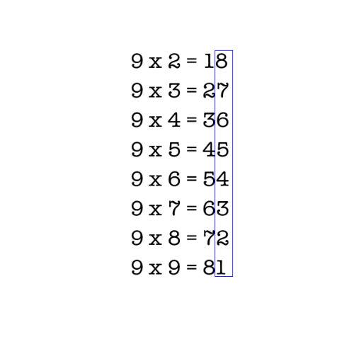 Tabliczka mnożenia dla humanisty - jak łatwo mnożyć przez 9 (rys. 2)