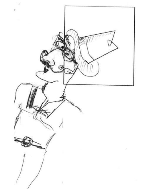 Test Torrance'a na kreatywne myślenie - niekompletna figura Daily Beast 2