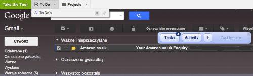 Wtyczka do Chrome ActiveInbox - zarządzanie mailami w duchu GTD