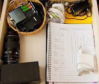 3. Miej przy sobie ładowarki i zrób miejsce na papiery