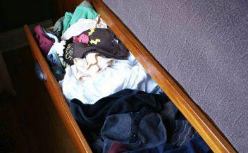 5 sposobów na porządek w szufladach PRZED