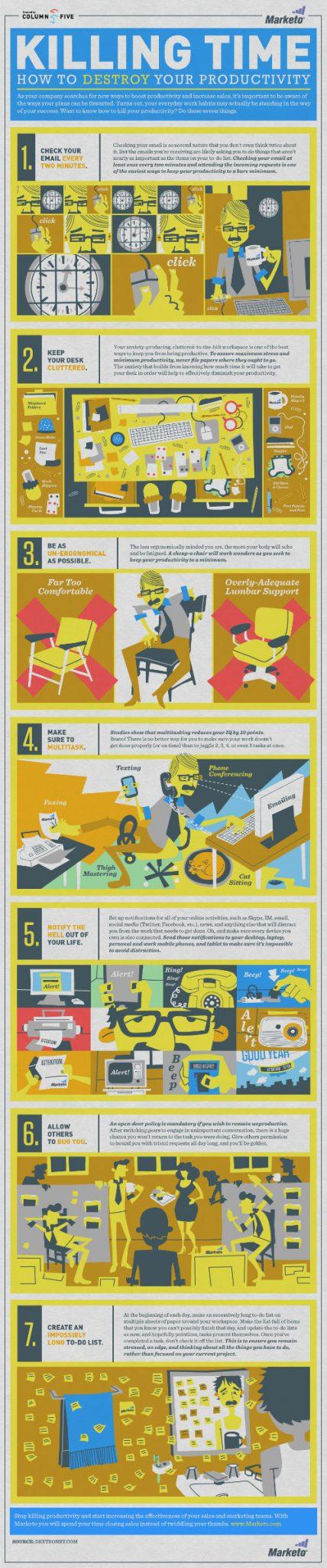 7 rozpraszaczy, które zabijają twoją produktywność