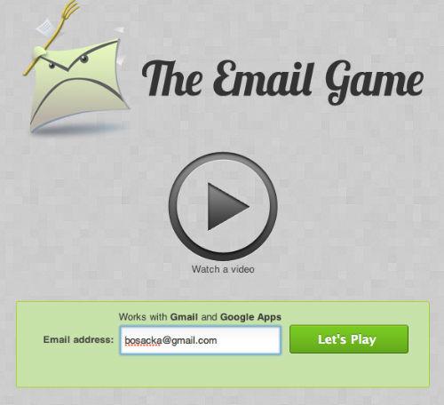 Grywalizacja GMaila - zamieniamy sprawdzanie poczty w grę
