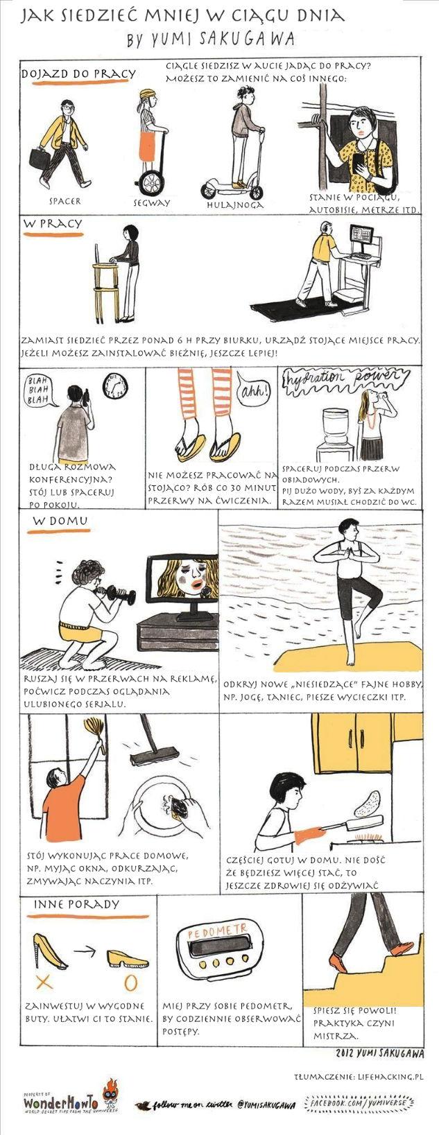 Jak siedzieć krócej i żyć dłużej (przewodnik ilustrowany)