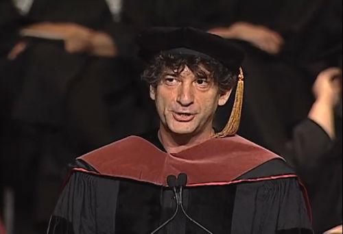 Niezwykłe przemówienie Neila Gaimana (rada nie tylko dla pisarzy)