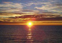Obliczamy przy pomocy palców ile czasu zostało do zachodu słońca