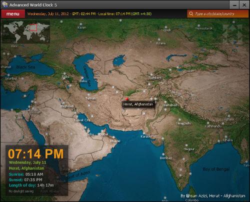 Zamień swój pulpit w zegar, by sprawdzać czas w różnych krajach świata