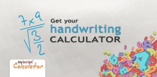 Android - MyScript Calculator dokonuje obliczeń matematycznych rozpoznając pismo ręczne
