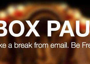 Wreszcie pojawił się Inbox Pause, zatrzymujący odbieranie maili