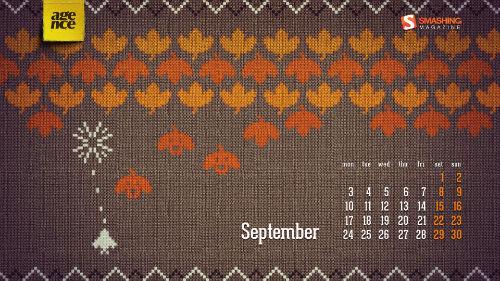 Wrzesień - 24 jesienne tapety od Smashing Magazine