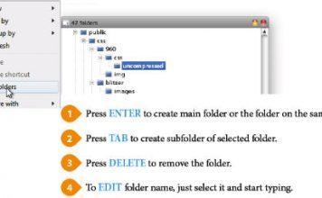 Łatwe kopiowanie struktury folderów dzięki 47 folders