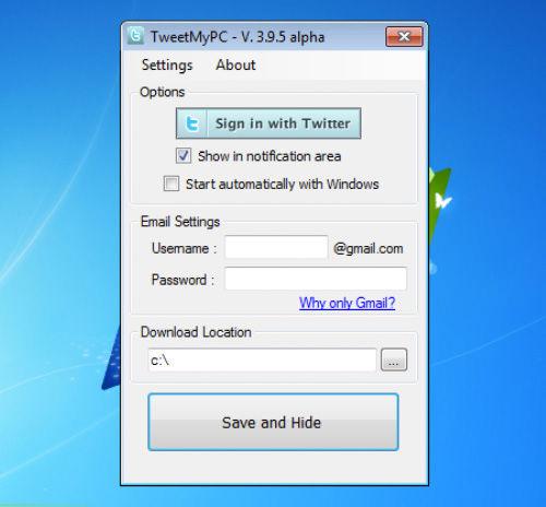 Instalujemy i logujemy się używając swojego konta na Twitterze