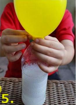 Jak szybko nadmuchać balon (w butelce z sodą)