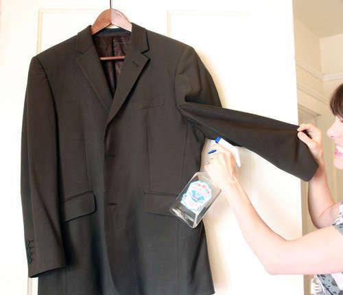 1. Usuwanie nieprzyjemnego zapachu z ubrań