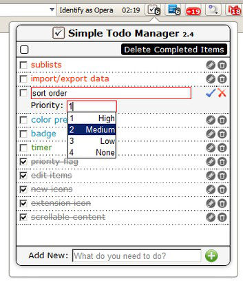 Simple ToDo Manager