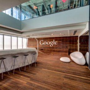 Nowe biuro Google w Tel Avivie (Izrael). FOTO