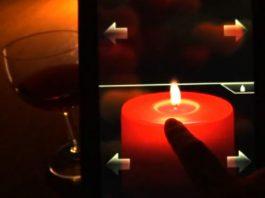 Romantyczna świeczka na Walentynki