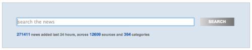 NewsIsFree to setki tysięcy wiadomości z kilkunastu tysięcy kanałów RSS