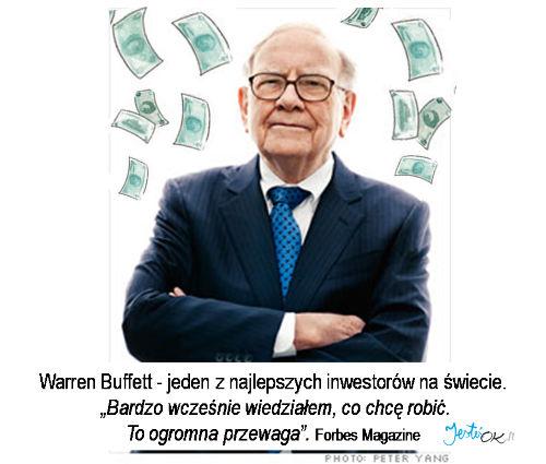 Warren Buffett - jeden z najlepszych inwestorów na świecie