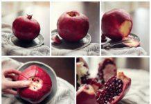 Jak obrać i jeść owoc granatu