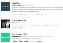 Serwis NewsletterStash pozwala nam na sprawnie zarządzanie newsletterami