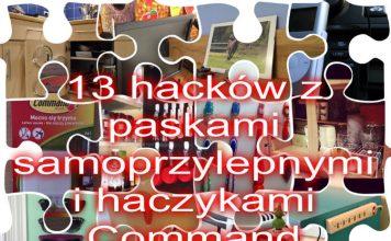 Porządkujemy cztery kąty: 13 hacków z paskami samoprzylepnymi i haczykami Command