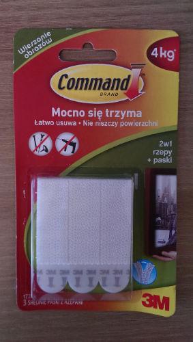 Rzepy Command do wieszania obrazów