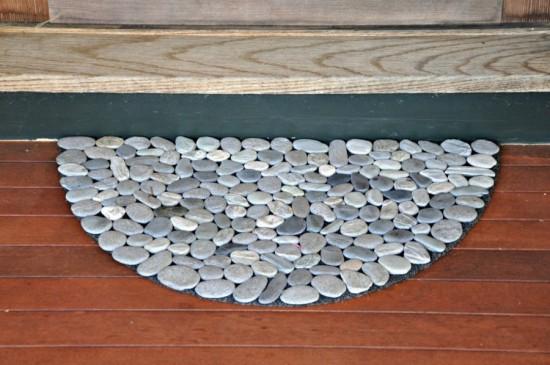 Dywanik o kształcie półkola dywany w kształcie półkoła