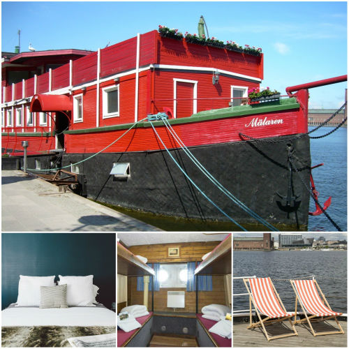 1. The Red Boat Malaren — Sztokholm (Szwecja) 20 najbardziej fenomenalnych hosteli Europy