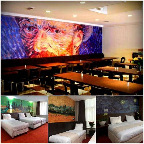 10. Van Gogh Hostel, Amsterdam (Holandia) 20 najbardziej fenomenalnych hosteli Europy