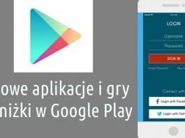 Najlepsze darmowe aplikacje Android zniżki Google Play 31 sierpnia 2016