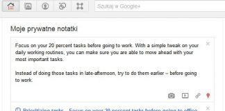 Dodawanie-notatek-tresci-Udostępnianie Google+ Google Plus-Udostępnij-nowy-wpis