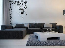 Pomysł na nowy salon wystrój wnętrz Naklejki: Jak zmienić wnętrze salonu bez kapitalnego remontu