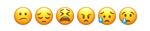 Słownik emocji emotikonki smutek, rozczarowanie, tęsknota, niezadowolenie, zmieszanie, rozpacz