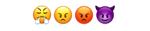 Skąd wziąć lista emoji słownik emotikonki zawiść, zazdrość, gniew, wściekłość