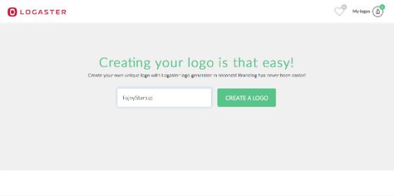 logaster-tworzenie-logotypu-nazwa startupu