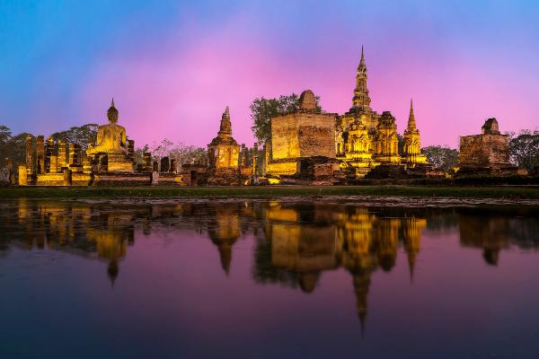 Gdzie na wakacje kwiecień 2019 Bangkok Wybrane budżetowe kierunki