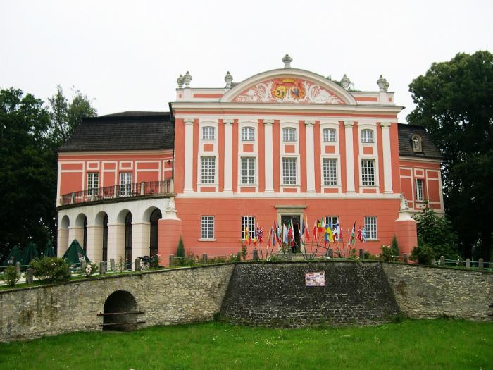 """Kurozwęki Pałac w Kurozwękach opisany na kartach """"Popiołów"""" jako pałac w Grudnie"""