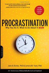 Jane B. Burka, Lenora M. Yuen - Procrastination (Amazon)