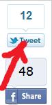 Liczba share'ów oraz retweetów na Lifehackerze