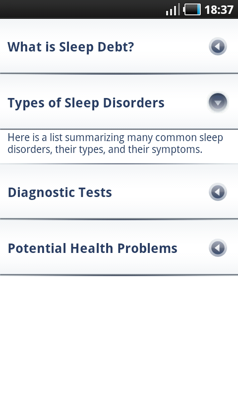Sleep Bot Tracker Log - przydatne artykuły na temat spania oraz zaburzeń snu