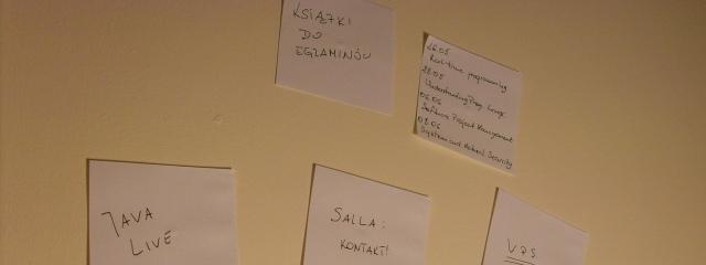 Tomasz - Mój workflow - autorski system zarządzania czasem oraz zadaniami - karteczki