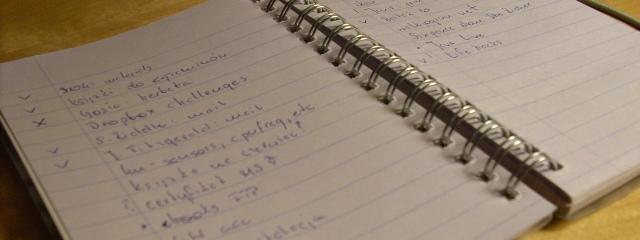 Tomasz - Mój workflow - autorski system zarządzania czasem oraz zadaniami - notatnik