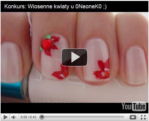 Wiosenne kwiaty na Twoich paznokciach