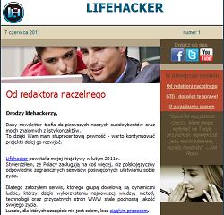 Lifehacker Polska - newsletter