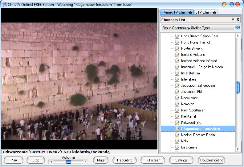 Kamera internetowa ChrisTV Online! - Ściana Płaczu (Jerozolima, Izrael) - Lifehacker