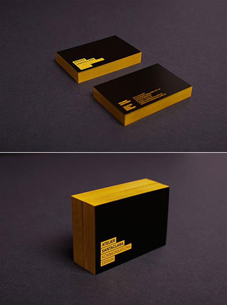 Przykłady dobrych wizytówek, które zapamięta Twój potencjalny pracodawca - Santaclara Business card - Lifehacker