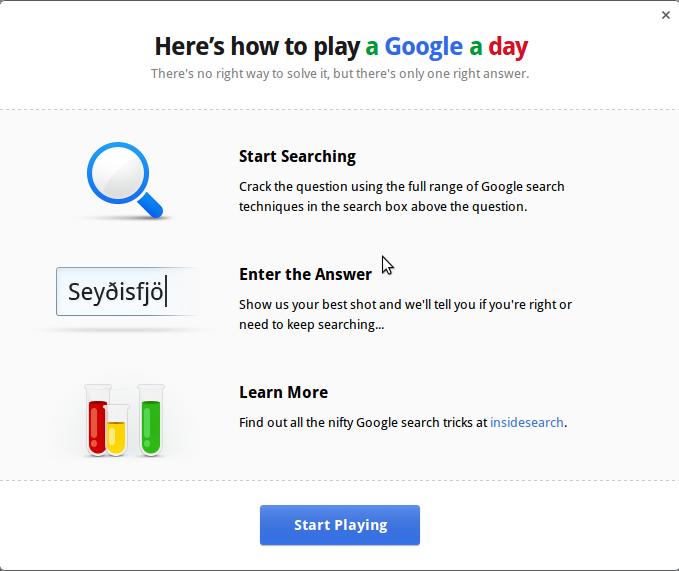 A Google day - odpowiedz dla odmiany na pytania Google - Lifehacker