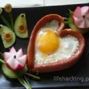 Jajecznica - serduszko