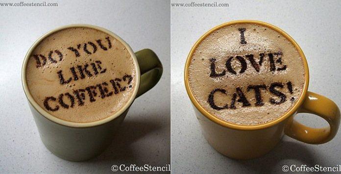 Szablony CoffeeStencil - 2 - (Nie)szablonowe komunikaty i wzorki na kawie